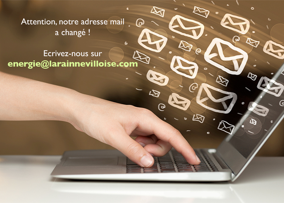 Changement d'email